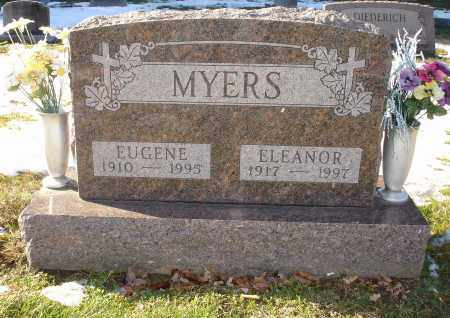 MYERS, EUGENE - Lorain County, Ohio | EUGENE MYERS - Ohio Gravestone Photos