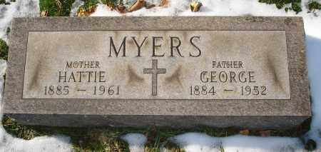 MYERS, HATTIE - Lorain County, Ohio | HATTIE MYERS - Ohio Gravestone Photos