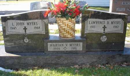 MYERS, L. JOHN - Lorain County, Ohio | L. JOHN MYERS - Ohio Gravestone Photos