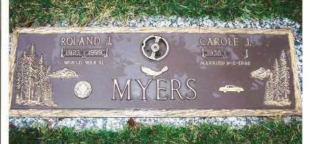 MATHENY MYERS, CAROLE - Lorain County, Ohio | CAROLE MATHENY MYERS - Ohio Gravestone Photos