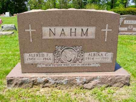 NAHM, ALBINA C. - Lorain County, Ohio | ALBINA C. NAHM - Ohio Gravestone Photos