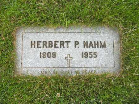 NAHM, HERBERT - Lorain County, Ohio | HERBERT NAHM - Ohio Gravestone Photos