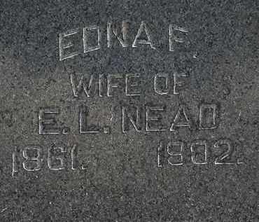 NEAD, EDNA F. - Lorain County, Ohio | EDNA F. NEAD - Ohio Gravestone Photos