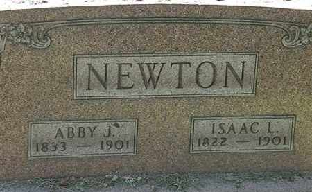 NEWTON, ISAAC L. - Lorain County, Ohio | ISAAC L. NEWTON - Ohio Gravestone Photos