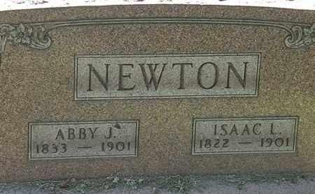 NEWTON, ABBY J. - Lorain County, Ohio | ABBY J. NEWTON - Ohio Gravestone Photos