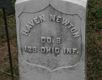 NEWTON, HAVEN - Lorain County, Ohio | HAVEN NEWTON - Ohio Gravestone Photos
