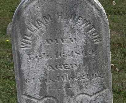 NEWTON, WILLIAM H. - Lorain County, Ohio | WILLIAM H. NEWTON - Ohio Gravestone Photos