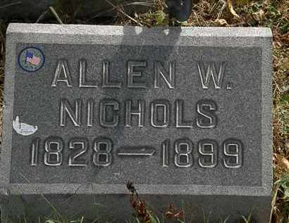 NICHOLS, ALLEN W. - Lorain County, Ohio | ALLEN W. NICHOLS - Ohio Gravestone Photos
