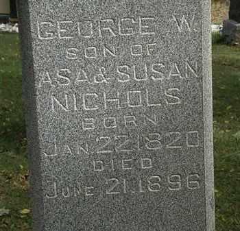 NICHOLS, ASA - Lorain County, Ohio | ASA NICHOLS - Ohio Gravestone Photos