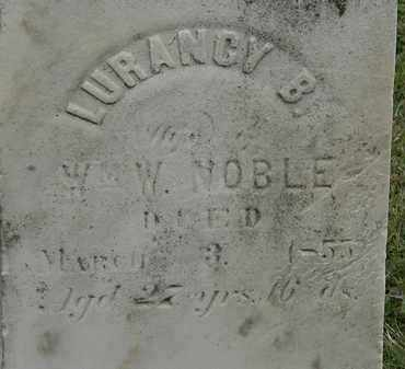 NOBLE, LUGANCY B. - Lorain County, Ohio | LUGANCY B. NOBLE - Ohio Gravestone Photos