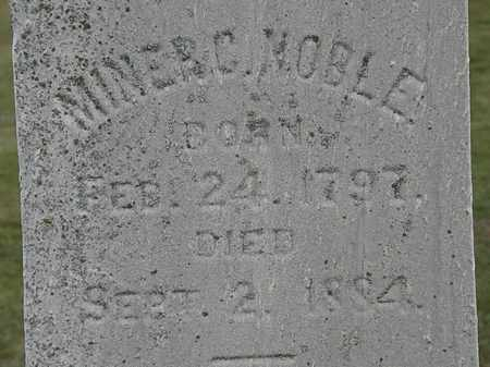 NOBLE, MINER C. - Lorain County, Ohio | MINER C. NOBLE - Ohio Gravestone Photos