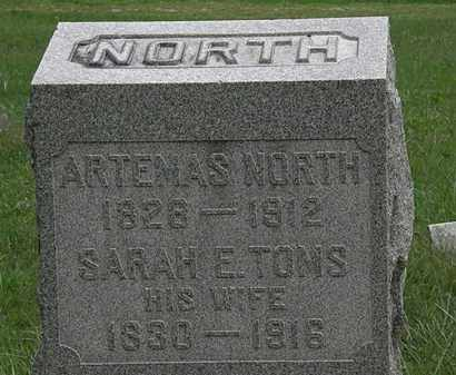 NORTH, ARTEMAS - Lorain County, Ohio | ARTEMAS NORTH - Ohio Gravestone Photos