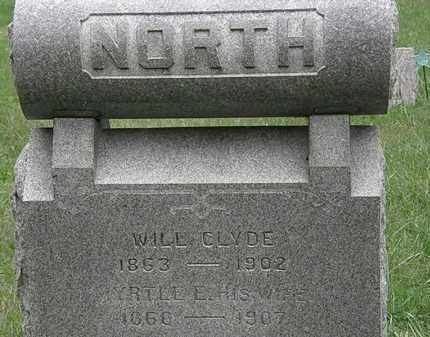 NORTH, WILL CLYDE - Lorain County, Ohio | WILL CLYDE NORTH - Ohio Gravestone Photos