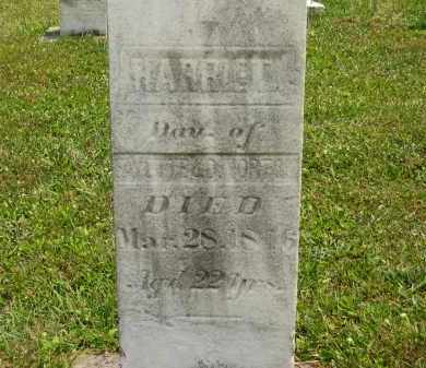 NORTON, HARRIET - Lorain County, Ohio | HARRIET NORTON - Ohio Gravestone Photos