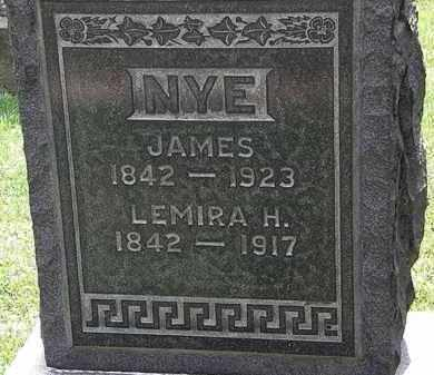 NYE, JAMES - Lorain County, Ohio | JAMES NYE - Ohio Gravestone Photos