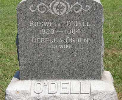 OGDEN O;DELL, REBECCA - Lorain County, Ohio | REBECCA OGDEN O;DELL - Ohio Gravestone Photos