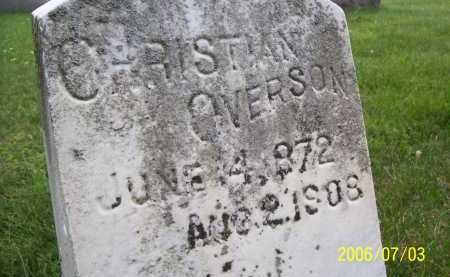OVERSON, CHRISTIAN - Lorain County, Ohio | CHRISTIAN OVERSON - Ohio Gravestone Photos