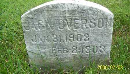 OVERSON, JACK - Lorain County, Ohio | JACK OVERSON - Ohio Gravestone Photos