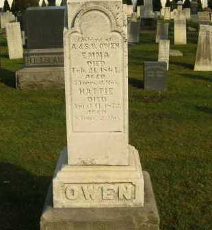 OWEN, A. - Lorain County, Ohio | A. OWEN - Ohio Gravestone Photos