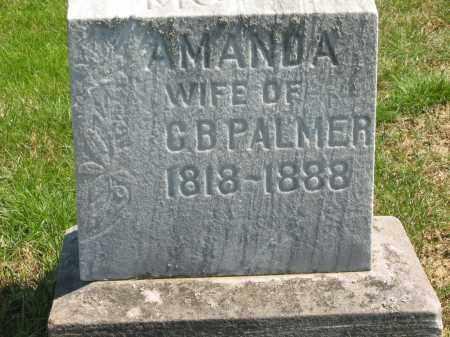 PALMER, AMANDA - Lorain County, Ohio | AMANDA PALMER - Ohio Gravestone Photos