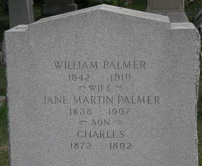 PALMER, JANE - Lorain County, Ohio | JANE PALMER - Ohio Gravestone Photos