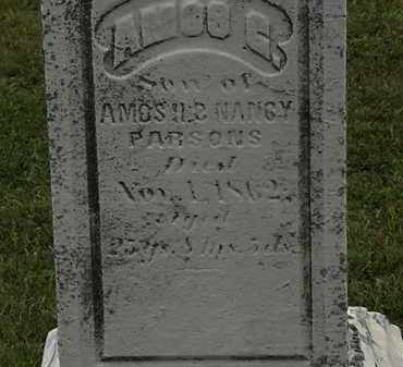 PARSONS, AMOS G. - Lorain County, Ohio | AMOS G. PARSONS - Ohio Gravestone Photos