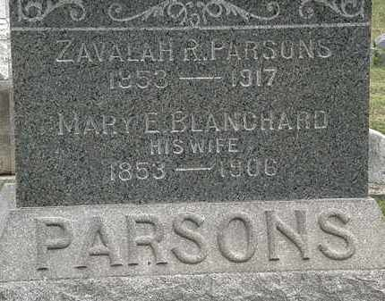 PARSONS, MARY E. - Lorain County, Ohio | MARY E. PARSONS - Ohio Gravestone Photos