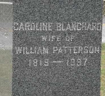 BLANCHARD PATTERSON, CAROLINE - Lorain County, Ohio | CAROLINE BLANCHARD PATTERSON - Ohio Gravestone Photos