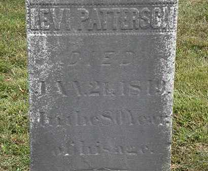 PATTERSON, LEVI - Lorain County, Ohio | LEVI PATTERSON - Ohio Gravestone Photos
