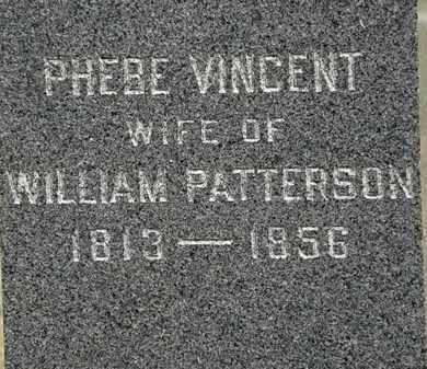 PATTERSON, PHEBE - Lorain County, Ohio | PHEBE PATTERSON - Ohio Gravestone Photos