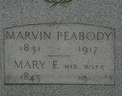 PEABODY, MARVIN - Lorain County, Ohio | MARVIN PEABODY - Ohio Gravestone Photos