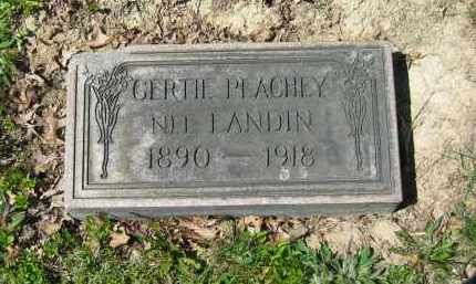 PEACHY, GERTIE - Lorain County, Ohio | GERTIE PEACHY - Ohio Gravestone Photos