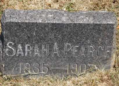 PEARCE, SARAH A. - Lorain County, Ohio | SARAH A. PEARCE - Ohio Gravestone Photos