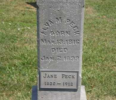 PECK, JANE - Lorain County, Ohio | JANE PECK - Ohio Gravestone Photos