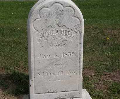 PECK, ELISHA - Lorain County, Ohio | ELISHA PECK - Ohio Gravestone Photos