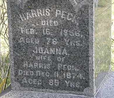 PECK, HARRIS - Lorain County, Ohio | HARRIS PECK - Ohio Gravestone Photos