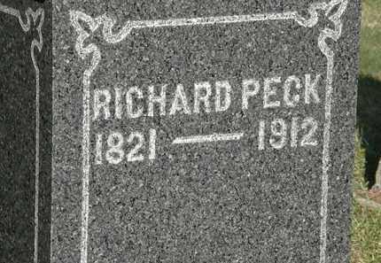 PECK, RICHARD - Lorain County, Ohio | RICHARD PECK - Ohio Gravestone Photos
