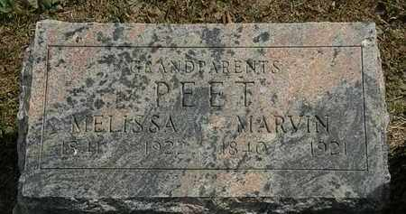PEET, MARVIN - Lorain County, Ohio | MARVIN PEET - Ohio Gravestone Photos