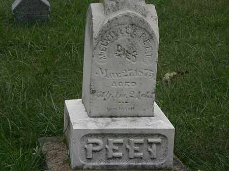 PEET, MELVILLE E. - Lorain County, Ohio | MELVILLE E. PEET - Ohio Gravestone Photos