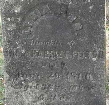 PELTON, LYDIA ANN - Lorain County, Ohio | LYDIA ANN PELTON - Ohio Gravestone Photos