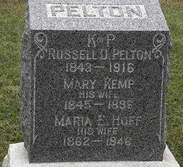 KEMP PELTON, MARY - Lorain County, Ohio | MARY KEMP PELTON - Ohio Gravestone Photos