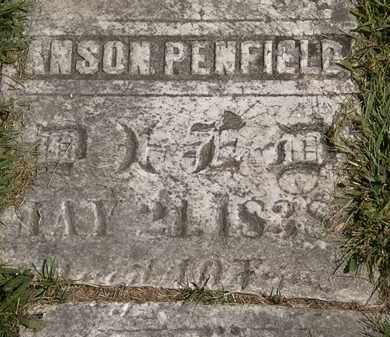 PENFIELD, ANSON - Lorain County, Ohio   ANSON PENFIELD - Ohio Gravestone Photos