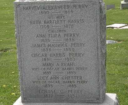 PERRY, HARVEY ALEXANDER - Lorain County, Ohio | HARVEY ALEXANDER PERRY - Ohio Gravestone Photos