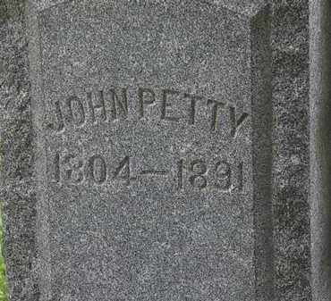 PETTY, JOHN - Lorain County, Ohio | JOHN PETTY - Ohio Gravestone Photos