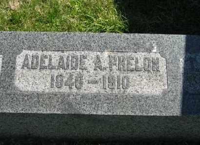 PHELON, ADELAIDE A. - Lorain County, Ohio | ADELAIDE A. PHELON - Ohio Gravestone Photos