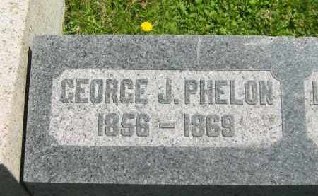 PHELON, GEORGE J. - Lorain County, Ohio | GEORGE J. PHELON - Ohio Gravestone Photos