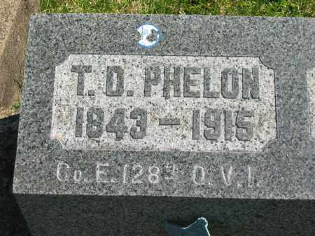 PHELON, T. D. - Lorain County, Ohio | T. D. PHELON - Ohio Gravestone Photos