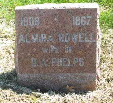 ROWELL PHELPS, ALMIRA - Lorain County, Ohio | ALMIRA ROWELL PHELPS - Ohio Gravestone Photos