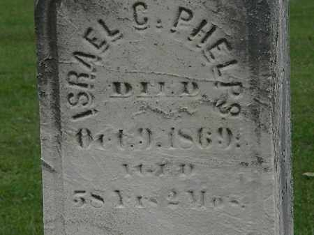 PHELPS, ISREAL C. - Lorain County, Ohio | ISREAL C. PHELPS - Ohio Gravestone Photos