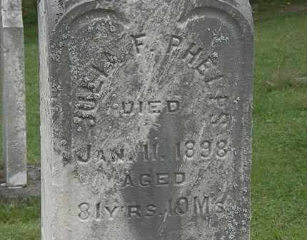 PHELPS, JULIA F. - Lorain County, Ohio | JULIA F. PHELPS - Ohio Gravestone Photos